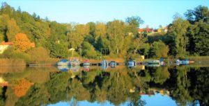 Norra bryggan i Tullingesjön - TSS båtklubb