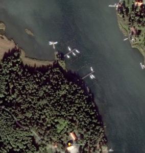 Piparholmen vid Trosa i Sörmland - Satelitbild - TSS Båtklubb