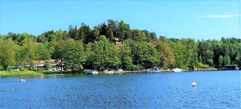 Södra bryggan i Tullingesjön - TSS båtklubb
