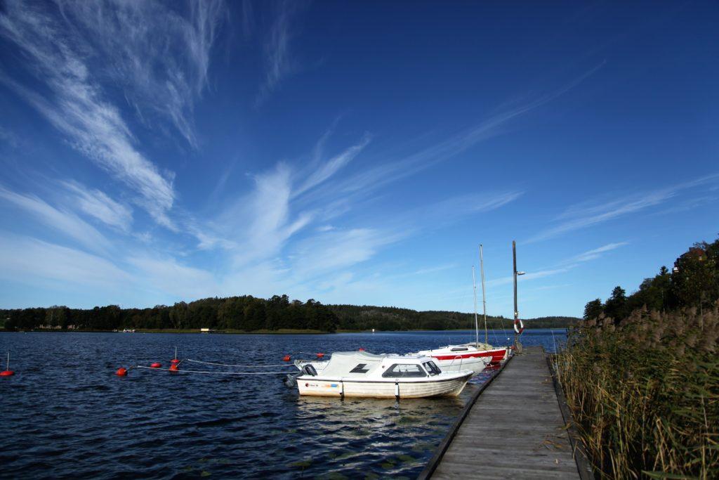 Slipenbryggan och i Tullingesjön - TSS båtklubb