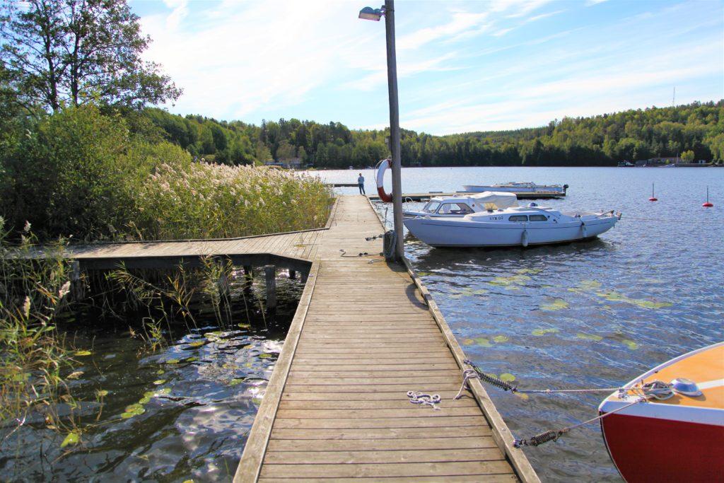 Slipenbryggan och i Tullingesjön - TSS båtklubb (2)