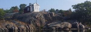 Sävö lotshus - bild från Sävö gård - TSS Båtklubb
