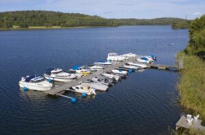 Norra Bryggan i Tullingesjön - TSS Tullinge Segel Sällskap - Båtklubb