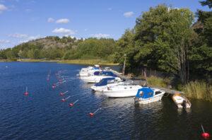 Södra Bryggan i Tullingesjön - TSS Tullinge Segel Sällskap - Båtklubb