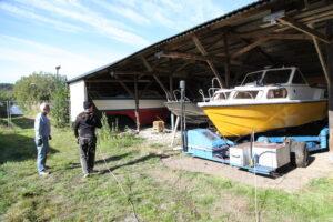 Nu kan du boka upptagning av båt för vinterförvaring på Slipen - TSS Båtklubben i Tullinge
